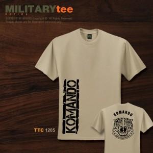 Military Tee GERAKHAS (Khaki) - TTC144