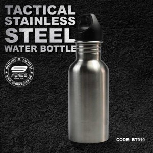 TACTICAL STAINLESS STEEL WATER BOTTLE