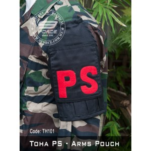 TOHA PS - Tactical Arms Pouch (Black, TOHA101)