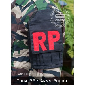 TOHA RP - Tactical Arms Pouch (Black, TOHA102)