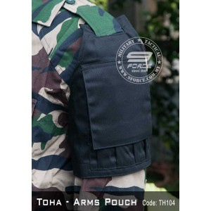 TOHA - Tactical Arms Pouch (Black, TOHA104)