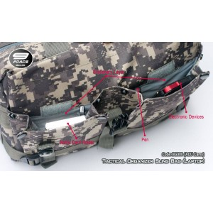 Tactical Organizer Sling Bag (Laptop) BG300