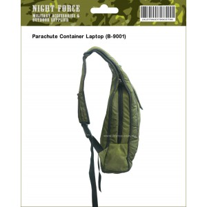 Parachut container bag (Laptop) -Olive Green
