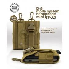 D-5 MOLLE SYSTEM HANDPHONE MINI POUCH - BG130