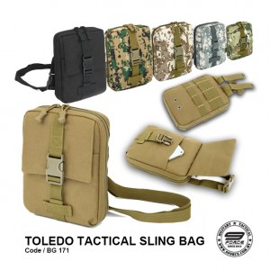 TOLEDO TACTICAL SLING BAG - BG171
