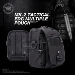 MK-2 TACTICAL EDC MULTIPLE POUCH - BG177