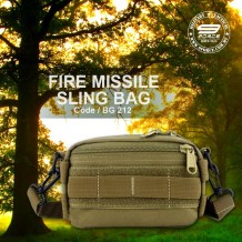FIRE MISSILE SLING BAG - BG212