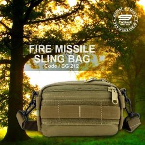 FIRE MISSILE SLING BAG - BG212