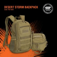 DESERT STORM BACKPACK - BG4220