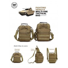 FIGHTING VEHICLE MULTI-USE TACTICAL BAG (BG4250)