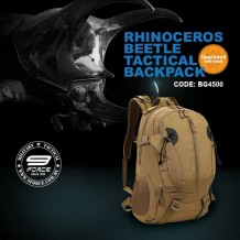 RHINOCEROS BEETLE 40L TACTICAL BACKPACK - BG4500