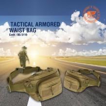 TACTICAL ARMORED WAIST BAG - BG5110