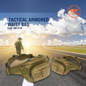 TACTICAL ARMORED WAIST BAG - BG5110
