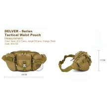 DELVER-SERIES TACTICAL WAIST POUCH