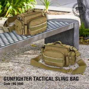 GUNFIGHTER TACTICAL SLING BAG - BG5680