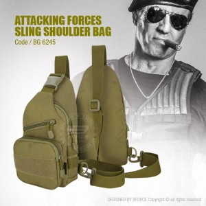 ATTACKING FORCES SLING SHOULDER BAG - BG6245