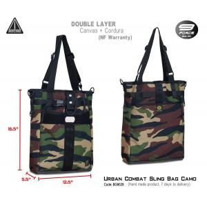 Urban Combat Sling Bag Camo
