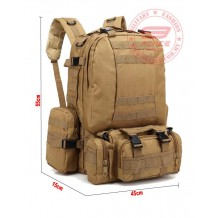 55L Multiple Backpack BL002