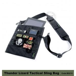 THUNDER LIZARD Tactical Sling bag, suitable for ipad, note, netbook, cyber worrior sling bag.