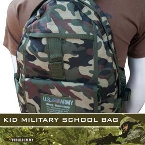 KID MILITARY SCHOOL BAG - BG240