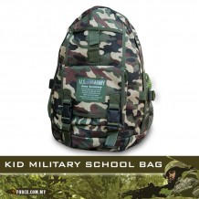 KID MILITARY SCHOOL BAG - BG240
