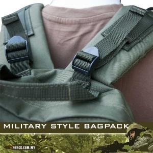 MILITARY STYLE BAGPACK - BG250