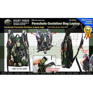 Parachute Container Laptop Bag (Camo Special Edition) B9000
