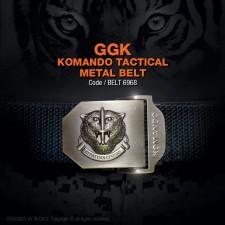 GGK KOMANDO TACTICAL METAL BELT, GERAKHAS, BLACK (BELT6968) FREE POSTAGE NOW