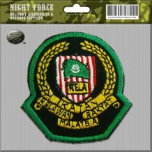 Embroidery Cap Badge RELA (Green)