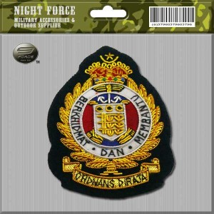 CAPBADGE Officer Beret Ordnand