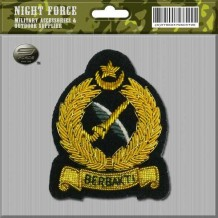 CAPBADGE Officer Peak Cap KPA