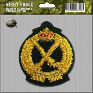 CAPBADGE Officer Peak Cap Renjer