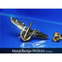 METAL BADGE PASKAU