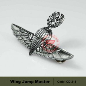 MILITARY WING JUMP MASTER, HIGH QUALITY. (CD215)