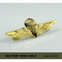 MILITARY WING GOLD, AIRBORNE, HIGH QUALITY (CD220)