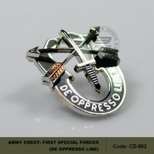 ARMY CREST: FIRST SPECIAL FORCES - DE OPPRESSO LIBE (CD902)