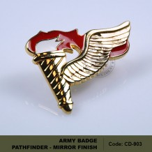 ARMY BADGE: PATHFINDER - MIRROR FINISH (CD903)