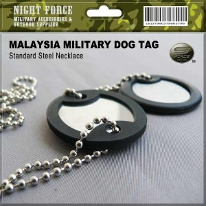 Dog Tag Set (Stainless steel)