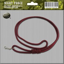 Lanyard Marron Double