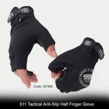 5.11 TACTICAL ANTI-SLIP HALF FINGER GLOVE - GF366