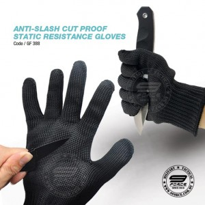 ANTI-SLASH CUT PROOF STATIC RESISTANCE GLOVES - GF388