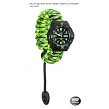 Pull N' Go Hand Watch Survival Paracord (1 Year warranty) - HW1521