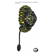 Pull N' Go Hand Watch Survival Paracord (1 Year warranty) - HW1528