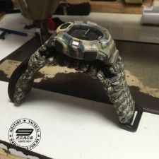 Survival Tactical watch camo. QnQ by Citizen. 1 year warranty. Large surface