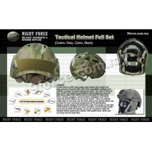 Tactical Helmet Full set