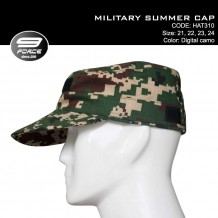 MILITARY SUMMER CAP NEW DIGITAL CAMO ATM - HAT310