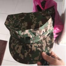 Officer cap Octagon Military Hat digital camo atm, celoreng tentera malaysia, hand made - HAT100