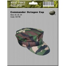 COMMANDER OCTAGON CAP - hat110