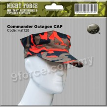 COMMANDER OCTAGON CAP - Hat120