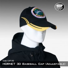 Hornet 3D Baseball Cap (Adjustable) - Cap310